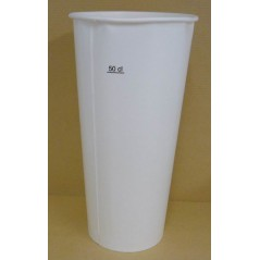 Serviette 39x39 2 feuilles blanche
